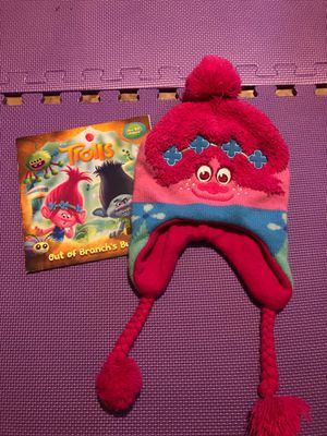 Trolls hat with book for Sale in Lilburn, GA