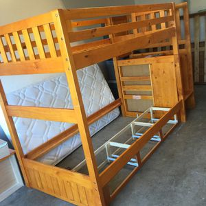 Twin Size Bunk Beds Convertible To 2 Separate Twin Beds for Sale in San Diego, CA