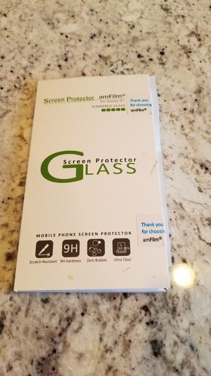Samsung S7 glass screen protector for Sale in Issaquah, WA