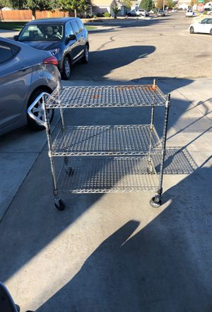 Shelf with wheels for Sale in El Mirage, CA