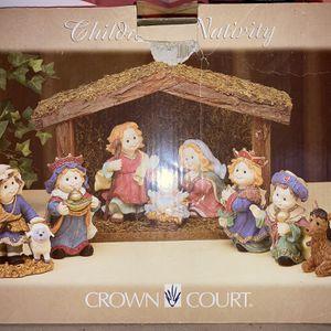 Ceramic Nativity Scene for Sale in Monroe, GA