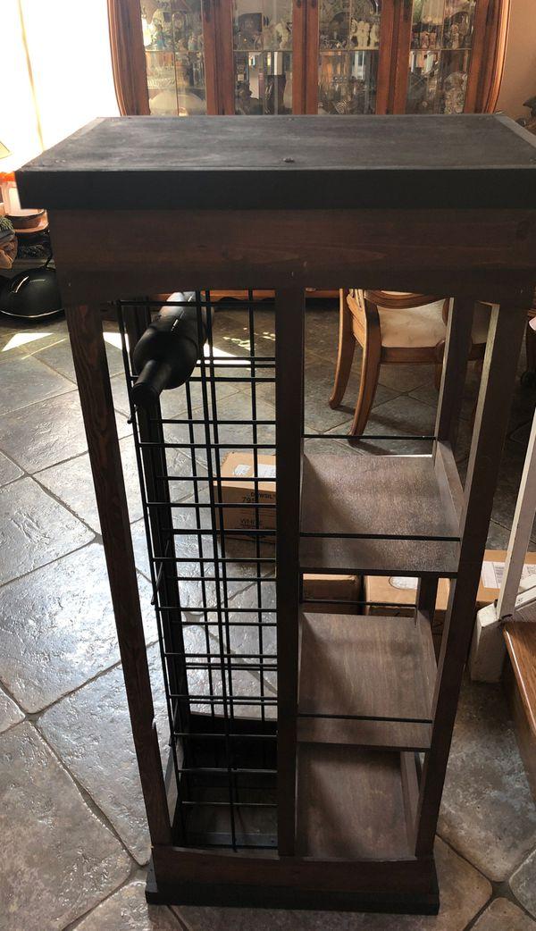 Wooden and Steel Wine/Storage Cabinet SUPER DEAL!!!