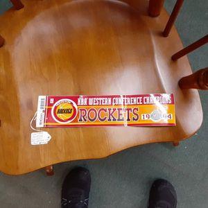 Vintage 1994 Houston Rockets Bumper Sticker for Sale in Houston, TX