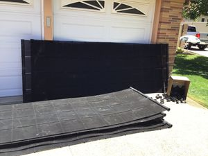 Pool / spa solar heating panels for Sale in Modesto, CA