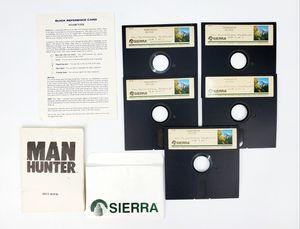 "Sierra - Manhunter - 5.25"" Floppy Disk, Manual etc. (1987) - IBM PC Tandy Game for Sale in Trenton, NJ"