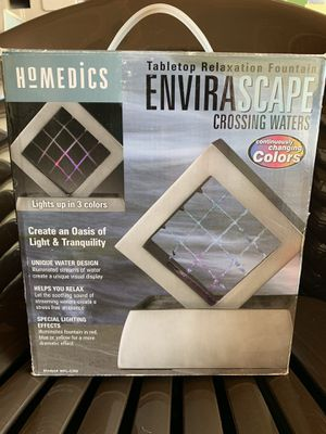 Homedics Envirascape Tabletop Fountain for Sale in West Covina, CA