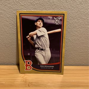 Ted Williams Limited Edition, Rare, Baseball Card GIVE ME ANY OFFER YOU HAVE for Sale in Seattle, WA