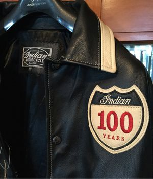 Indian Motorcycle 100th Anniversary Jacket - Never worn! for Sale in San Juan Capistrano, CA