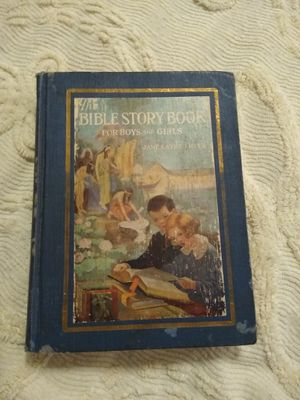 The Bible Story Book For Boys and Girls - very old for Sale in BROOKSIDE VL, TX