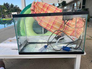 29 gallon aquarium set for Sale in Upland, CA