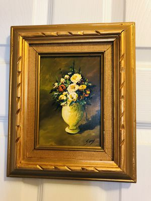"""BEAUTIFUL SMALL FLORAL OIL PAINTING"" for Sale in Grover Beach, CA"