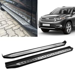 NEW Black Side Step Rails Running Boards Fits 2015-2019 Toyota Highlander Aluminum OE Style for Sale in Nashville, TN