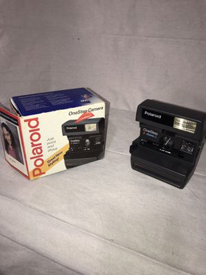 Vintage Polaroid 600 One Step Camera for Sale in Lafayette, CA