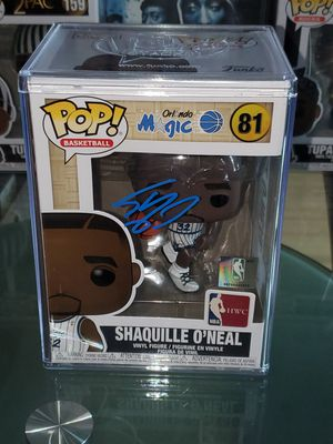 Shaquille O'Neal Autographed Hardwood Classic Funko Pop With Authenticity for Sale in The Bronx, NY