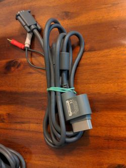 Genuine Xbox 360 VGA Plug Adapter for Sale in Gresham,  OR
