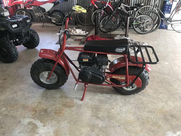 2017 Coleman mini bike