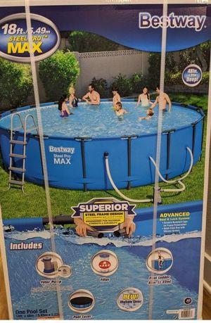 Bestway 18x48 pool for Sale in Wichita, KS