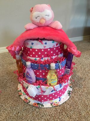 Diaper cake for Sale in Duncanville, TX
