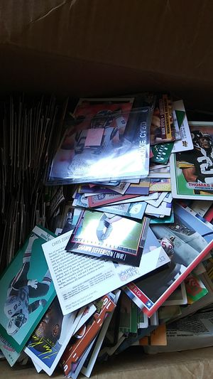 A box of Baseball cards $30 for Sale in Sacramento, CA
