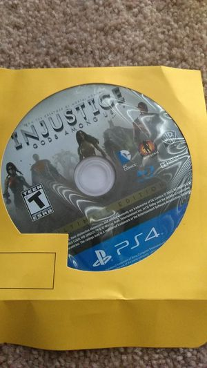 Injustice God's among us game ps4 for Sale in Fort Washington, MD