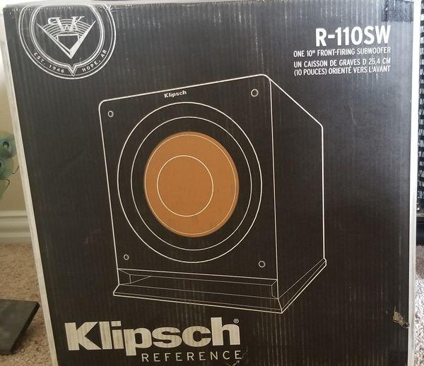Klipsch Subwoofer for sale