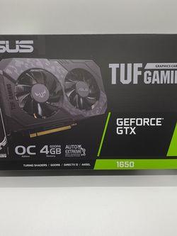 ASUS TUF Gaming GeForce GTX 1650 TUF-GTX1650-O4GD6-P-GAMING 4GB 128-Bit GDDR6 PCI Express 3.0 HDCP Ready Video Card for Sale in Hacienda Heights,  CA