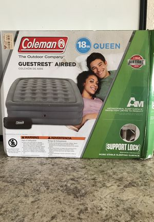 Coleman GuestRest Air bed 18in. Queen for Sale in Jacksonville, FL