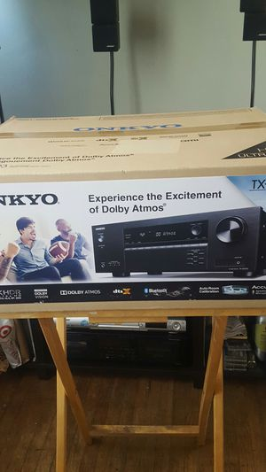 Onkyo 4K HDR , TX-SR393 BRAND NEW $230 for Sale in Oakland, CA