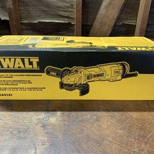 "DeWalt 13 Amp 4.5-5"" Grinder for Sale in Waterford Township, MI"
