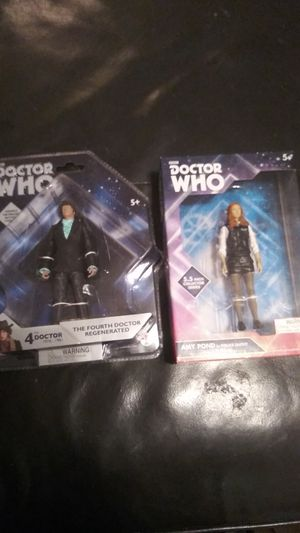 Doctor who 4th Doctor and Amy Pond action figures for Sale in Taylors, SC