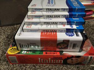 Learn Italian Kit for Sale in Tacoma, WA
