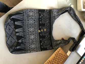 Elephant Boho Bag with Zipper & Front Pouch for Sale in Los Angeles,  CA