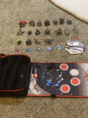 Infinity Characters, discs, Big bag, and the portal base. for Sale in West Richland, WA