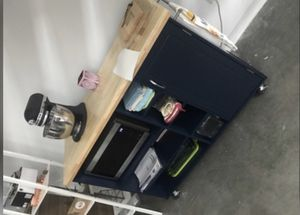 New!! Cart, microwave stand, island, butcher table, pantry for Sale in Phoenix, AZ