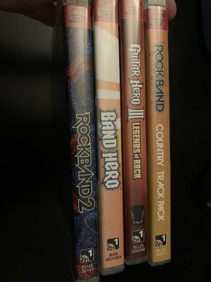 Rock Band - Band Hero - Guitar Hero Bundle PS3 for Sale in Santee, CA