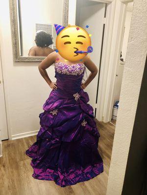 Beautiful purple quinceañera dress for Sale in San Diego, CA