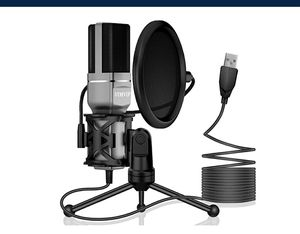 USB Condenser Microphone PC, Mic Stand & POP Filter NEW ½ PRICE for Sale in Virginia Beach, VA