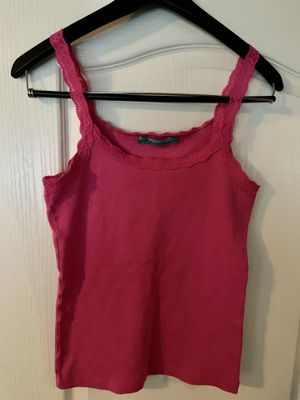 New Luigi Bertolli hot pink top. Soft. Size G for Sale in San Jose, CA
