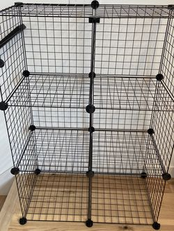 Interlocking Storage Cubes (wire shelf) for Sale in Seattle,  WA