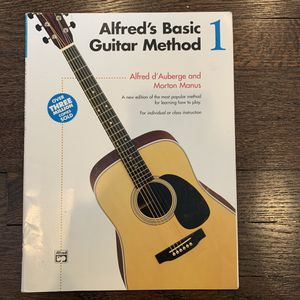 Alfred's Basic Guitar Method, Book 1 for Sale in Yonkers, NY