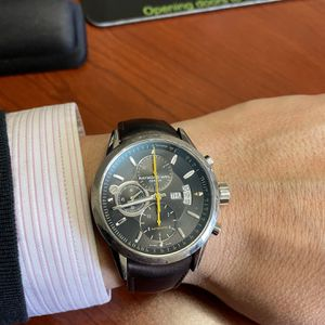 Raymond Weil Freelancer Chronograph Black Dial With Yellow Accents 7730-STC-20021 Box for Sale in Herndon, VA