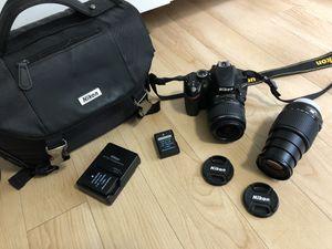 Nikon D3200 - Full Kit for Sale in Los Angeles, CA