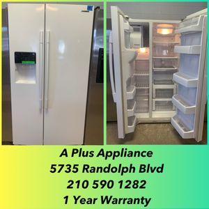 Samsung Side By Side Refrigerator 1 Year Warranty for Sale in San Antonio, TX