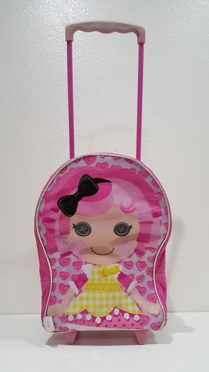 Lalaloopsy Pink Luggage On Wheels for Sale in Henderson, NV