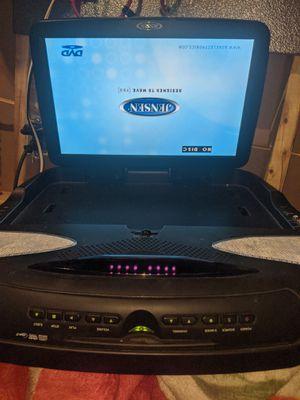17-in flip down DVD mp3 game ports for Sale in Vandalia, MI