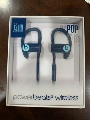 Powerbeats 3 wireless blue for Sale in Fresno, CA