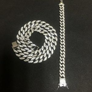 Cuban bracelet and necklace combo for Sale in Mansfield, TX