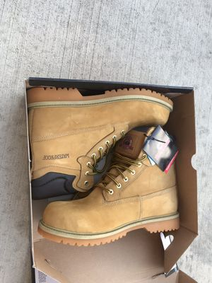 Work boots shoes mens for Sale in Schaumburg, IL
