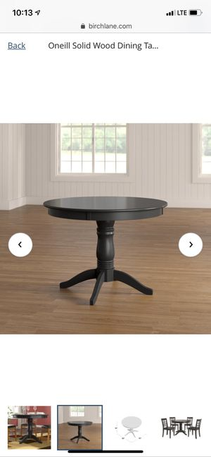 Oneill Solid Wood Dining Table (birch lane) for Sale in Dallas, TX