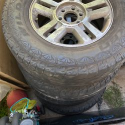 Ford F-150 Rims And Tires for Sale in Los Angeles,  CA